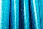 Metallic Pattern Spandex (Black/Turquoise)