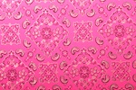 Pattern/Abstract Hologram (Hot Pink/Silver)