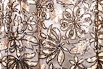 Non-Stretch Sequins (Black/Copper)