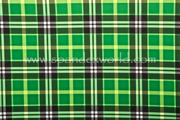 Printed Spandex (Green/Black/Multi)