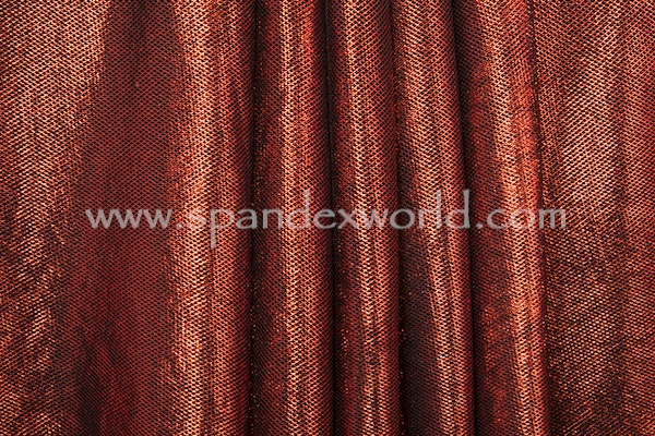 Metallic Fishnet (Black/Red)