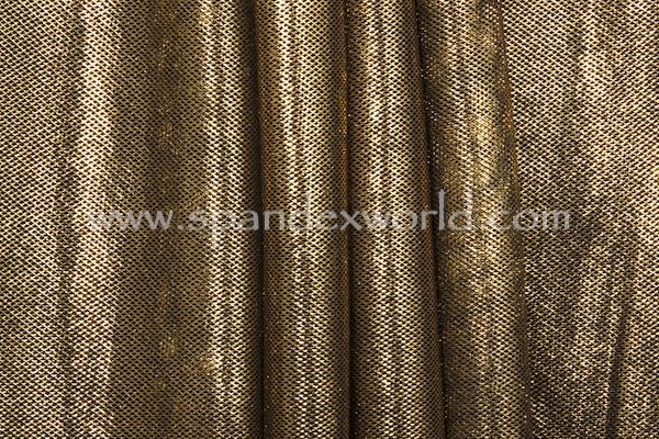 Metallic Fishnet (Black/Gold)