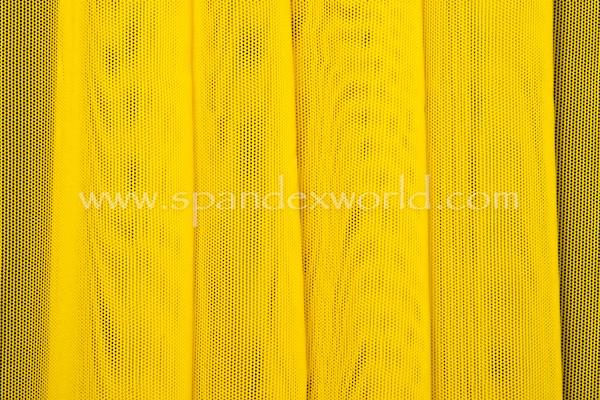 Stretch Solid Mesh (Daffodil Yellow)