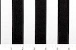 Printed Stripes 1'' (Black/White)
