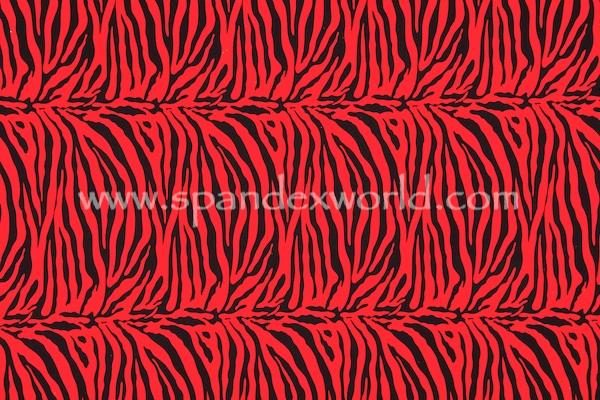 Animal Prints (Red/Black)