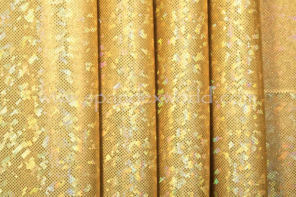 Shattered Glass Holograms (Gold/Gold)