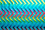 Pattern/Abstract Hologram (Turquoise/Turquoise/Multi)