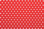 Printed Polka Dots (Red/White)