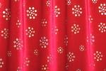 Glitter/Pattern Stretch Velvet (Red/Red/Silver Spark)