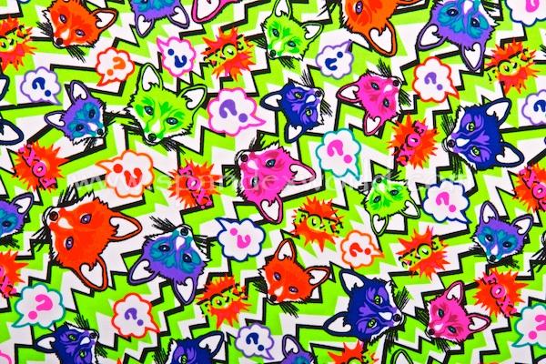 Animal Prints (Lime/Neon Multi)