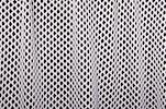 Cabaret Net - Metallic (White/Silver)