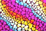 Pattern/Abstract Hologram (Black/Purple/Yellow/Fuchsia/Multi)