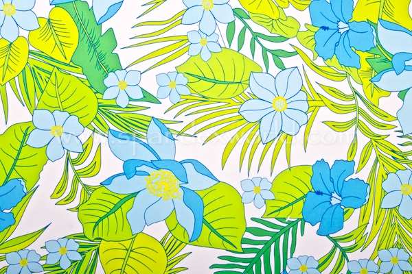 Floral Prints (Lime/White/Multi)