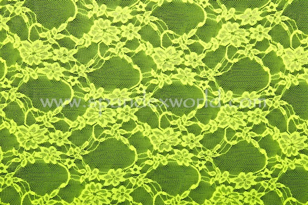 Stretch Lace (Chartreuse)