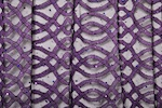 Stretch Sequins Lace (Black/Purple/Purple Holo)