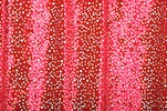 Glitter/Pattern Stretch Velvet (Red/Silver Holo)