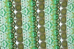 Printed Cotton Lycra® (Green/Black/Multi)