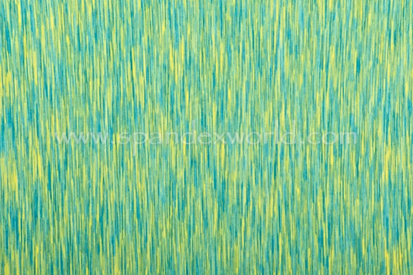 Abstract Print Spandex (Lime/Blue)