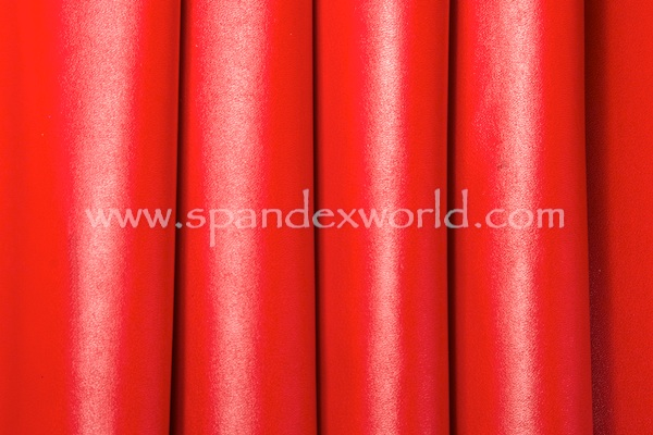 Faux Leather - 2 Way (Red/Red)