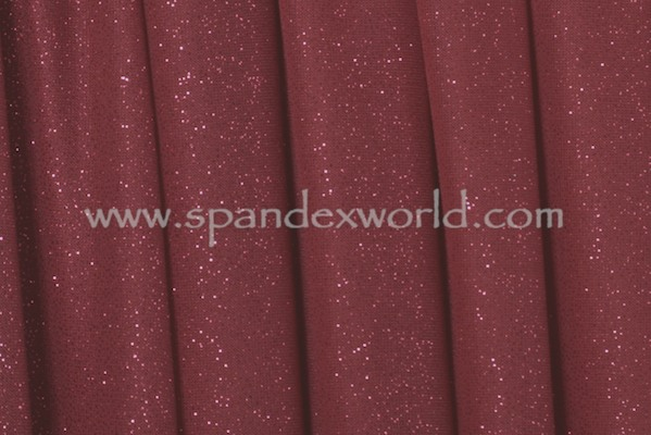 Sheer Glitter/Pattern (Burgundy/Burgundy)