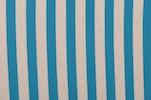 Printed Stripes (Turquoise/White)