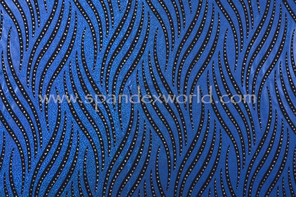 Holographic Pattern Mystique (Royal/Black/Royal)