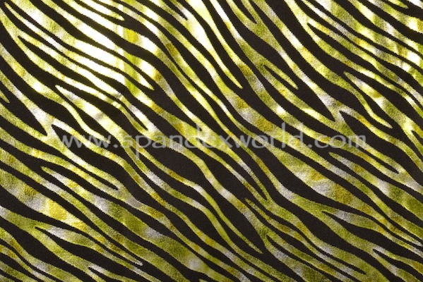 Pattern/Abstract Hologram (Lime/Black/Multi)