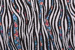 Printed Cotton Lycra (Black/White/Blue/Multi)