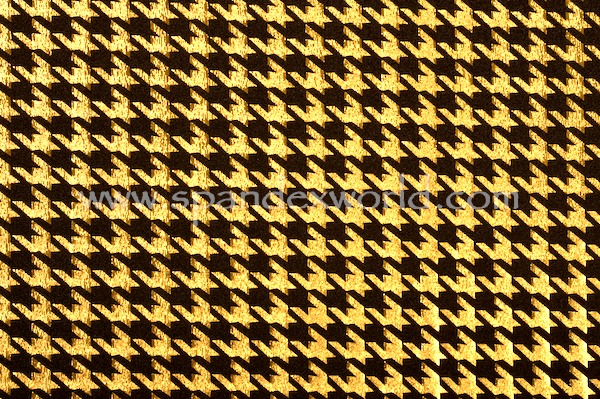 Pattern/Abstract Hologram (Black/Gold)