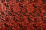 Pattern/Abstract Hologram (Black/Red)