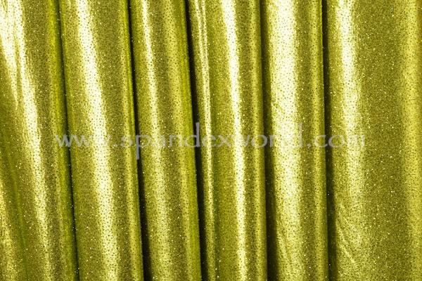 Metallic Pattern Spandex (Black/Lime)