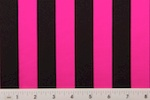 Printed Stripes (Hot Pink/Black)