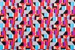 Printed Spandex (Black/Pink/Multi)