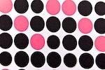 Printed Polka Dots (Black/Pink/Multi))