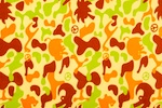 Printed Camouflage (Orange/Brown/Green/Multi)