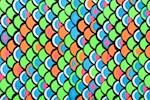 Printed Spandex (Lime/Turquoise/Orange/Multi)