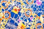 Novelty Spandex (Blue/Gold/Multi)
