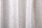 Cracked Ice Fabric - Holographic (Silver)