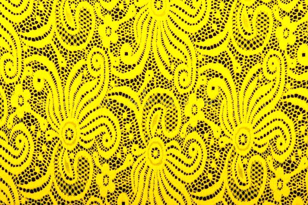 Stretch Lace (Daffodil  Yellow)