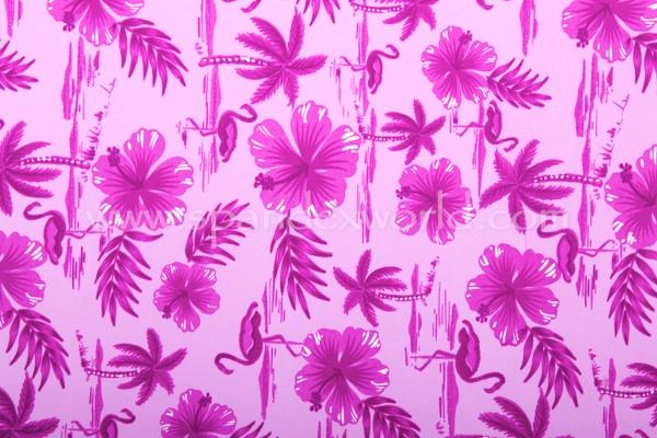 Abstract Print Spandex (Purple- combo)