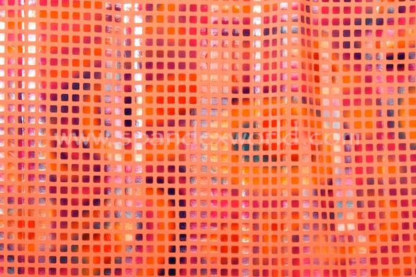 Pattern/Abstract Hologram (Bright Orange tie dye)