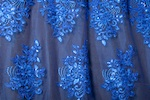Non Stretch Sequins (Royal/Royal)
