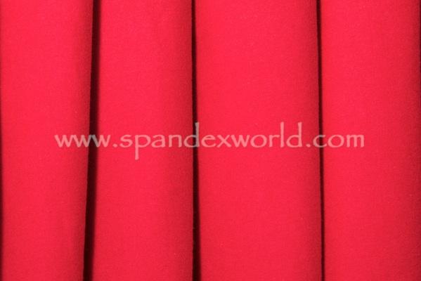 Cotton Lycra® (Red) (Heavy-weight)