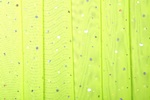 Glitter/Pattern Mesh (Bright lime/Silver Holo)
