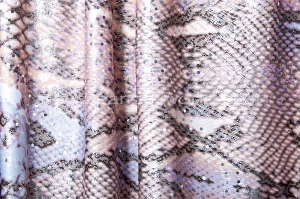 Animal Print Hologram (Ivory/Rose/Lilac Combo)