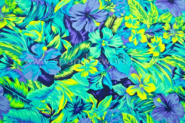 Floral Prints (Periwinkle/Lime/Multi)