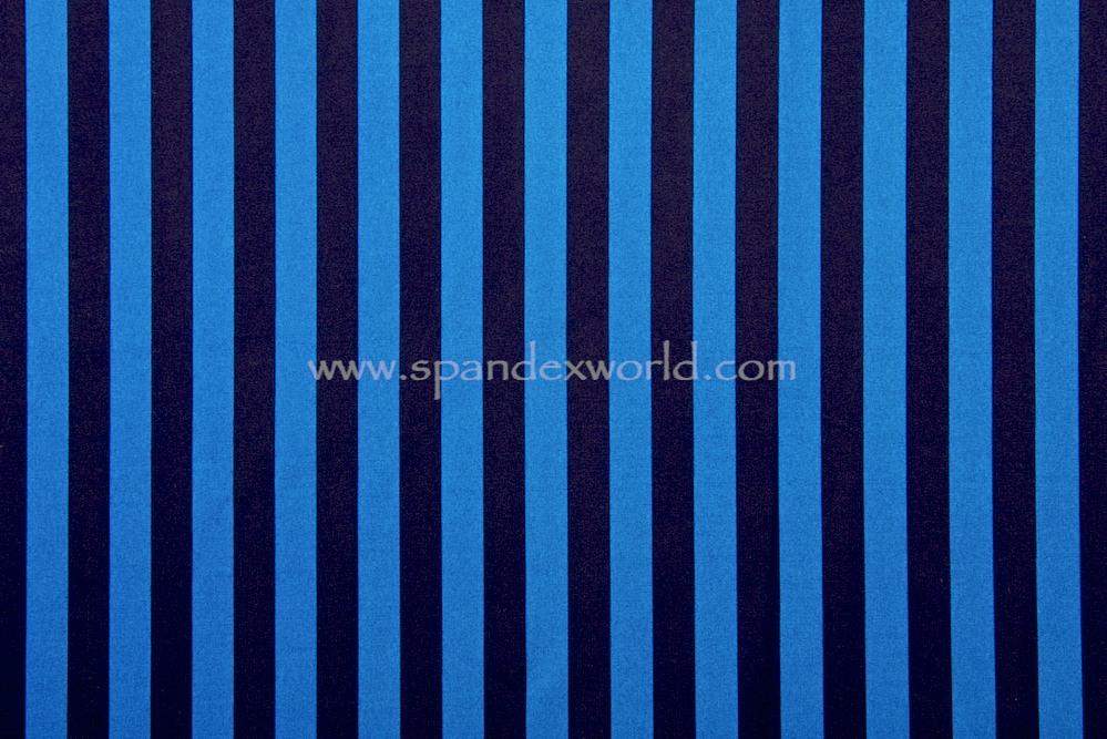 Printed Stripes (Black/Blue)