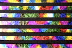 Stripes Hologram (Black/Multi)
