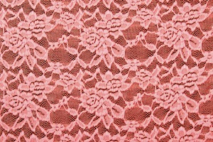 Stretch Lace (Coral)