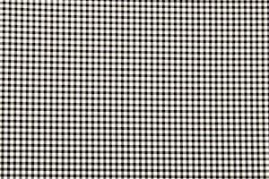 Checkered Print (Black/White)